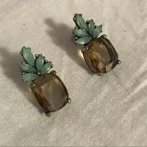 Banana Republic Pineapple Earrings